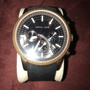 Michael Kors Accessories - Michael Kors 8244 Large Face Watch